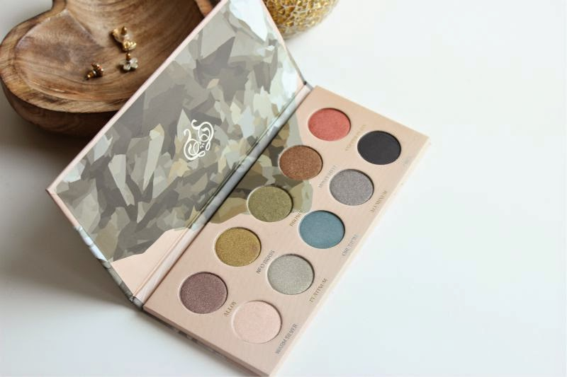 Zoeva Mixed Metals Eyeshadow Palette Review | The Sunday Girl