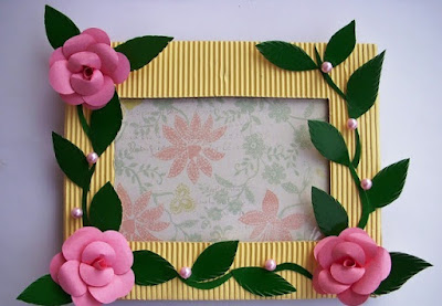 handmade arts and crafts ideas handmade photo frame craft project arts and crafts ideas 6682