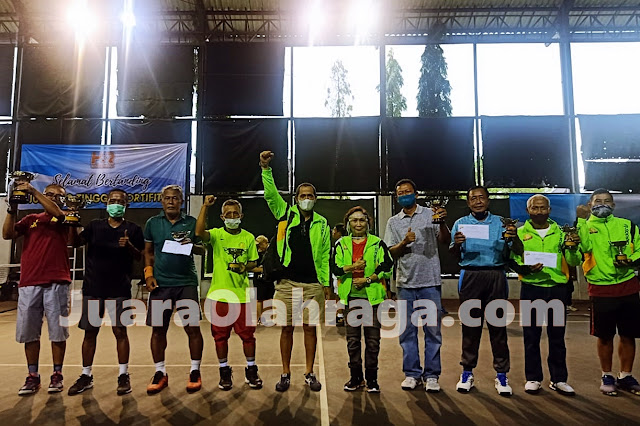 Inilah Para Kampiun Kejuaraan Tenis Baveti Araya-Sier Surabaya Cup I Tahun 2020