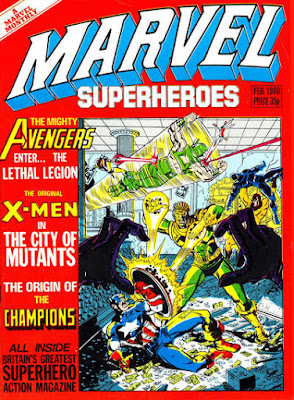 Marvel Superheroes #358