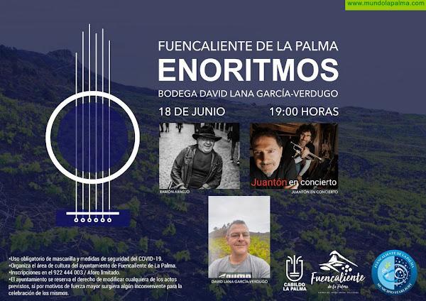 La música de Juantón y el humor de Ramón Araujo serán los protagonistas de la cuarta cita de Enoritmos