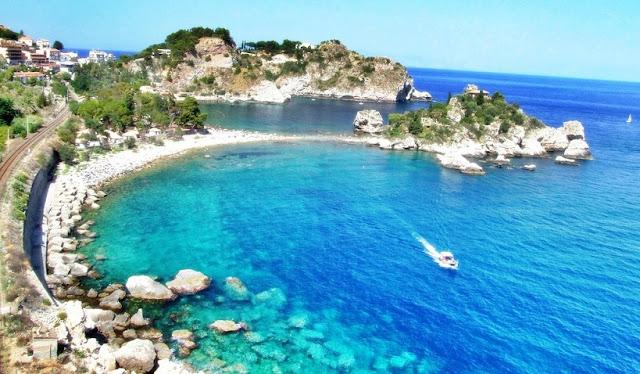 Principais pontos turísticos em Taormina