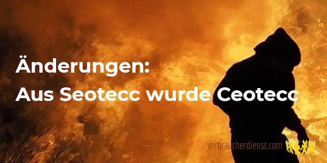 Titel: Änderungen: Aus Seotecc wurde Ceotecc