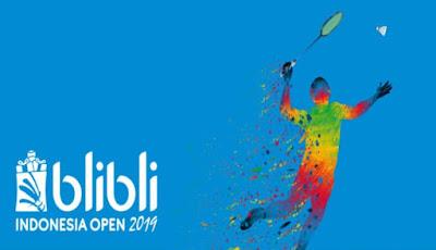 Keputusan Badminton Terbuka Indonesia 2019 (Jadual)