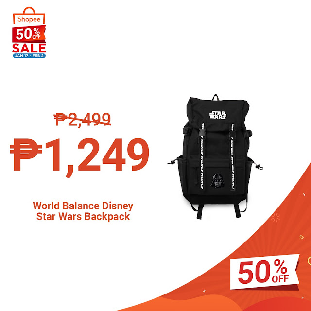 Grab These Bags and Accessories All at 50% Off on Shopee's 2.2 Sale