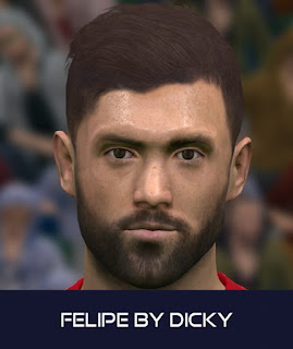 PES 2017 Faces Felipe by Dicky