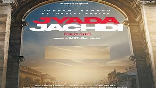 Jyada Jachdi Lyrics in Hindi (हिंदी) – jordan Sandhu | Gurlez Akhtar