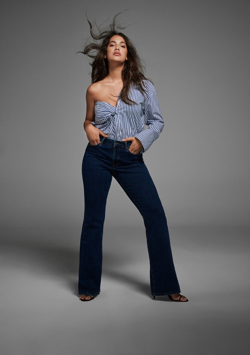 Violeta by Mango Denim Lookbook Fall 2019