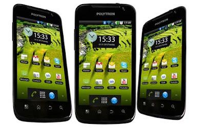 review polytron wizard w2400, harga handphone android dual sim layar luas, spesifikasi lengkap hp dua kartu android 1 ghz, gambar polytron wizard terbaru