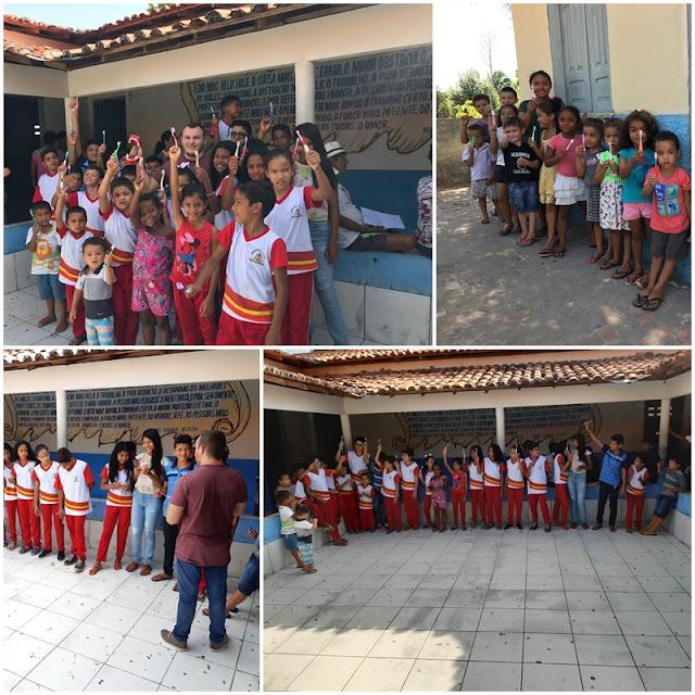 Prefeitura de Santa Quitéria-MA segue com ações de saúde bucal na zona rural