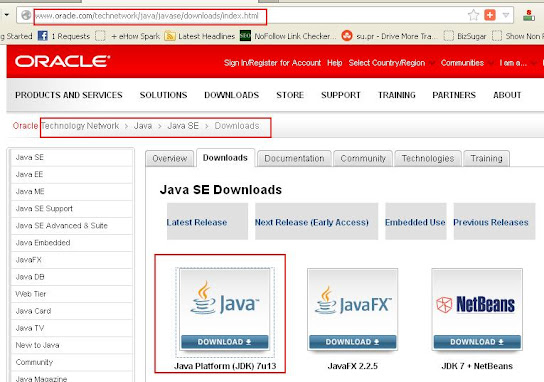 How to install JDK 7 in 32-bit and 64-bit Windows 8