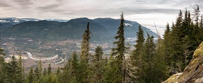 Springer Peak and Seward Below