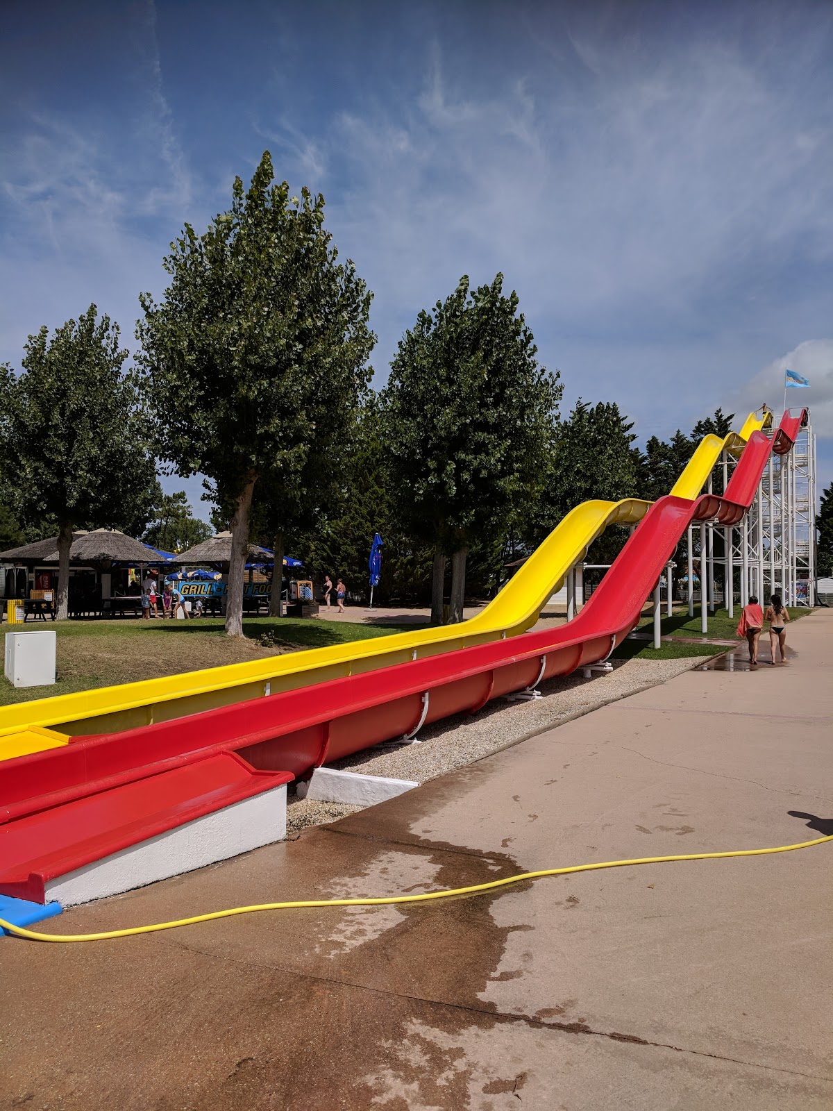 Anyone else hate water parks?  Atlantic Toboggan Vendee Water park pictures and review