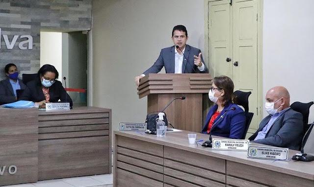 Vereador Paulinho e o deputado Romero Sales cobram providências sobre qualidade no atendimento nos correios de Escada