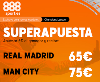 888sport superapuesta champions Real Madrid vs City 26 febrero 2020