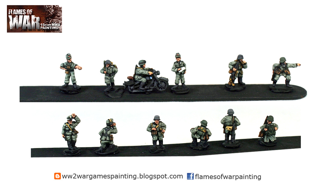 15mm WW2 mix of Peter Pig/Battlefront figures