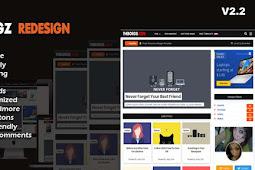 Download Viomagz Redesign Dull v2.2 Template Blogger - Responsive