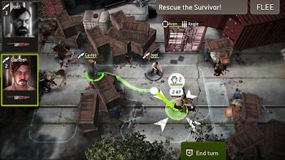 لعبة The Walking Dead مهكرة للأندرويد - تحميل مباشر