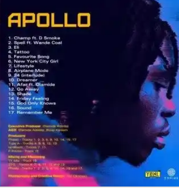 Fireboy DML – Apollo (Album)