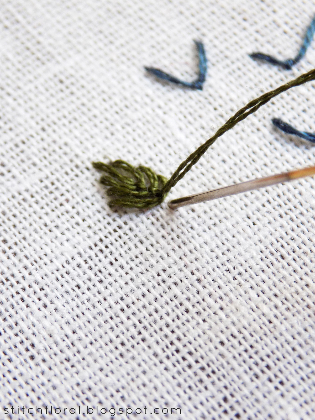 How to fly stitched leaves