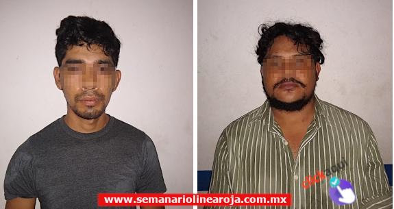 Policía de Solidaridad detuvo a un par de sujetos fuertemente armados