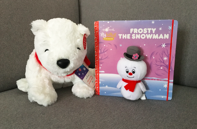 Frosty Friends Sivering Polar Bear and itty bittys Frosty the Snowman Book Set - #LoveHallmarkCA