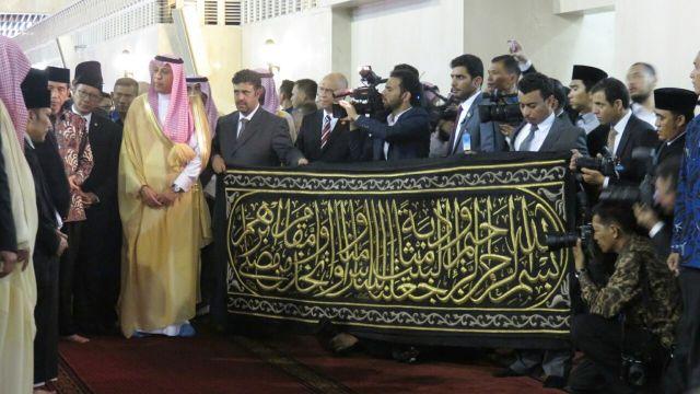 Diberi Hadiah Kiswah Ka'bah, Pengurus Masjid Istiqlal Ungkap Makna Didalamnya