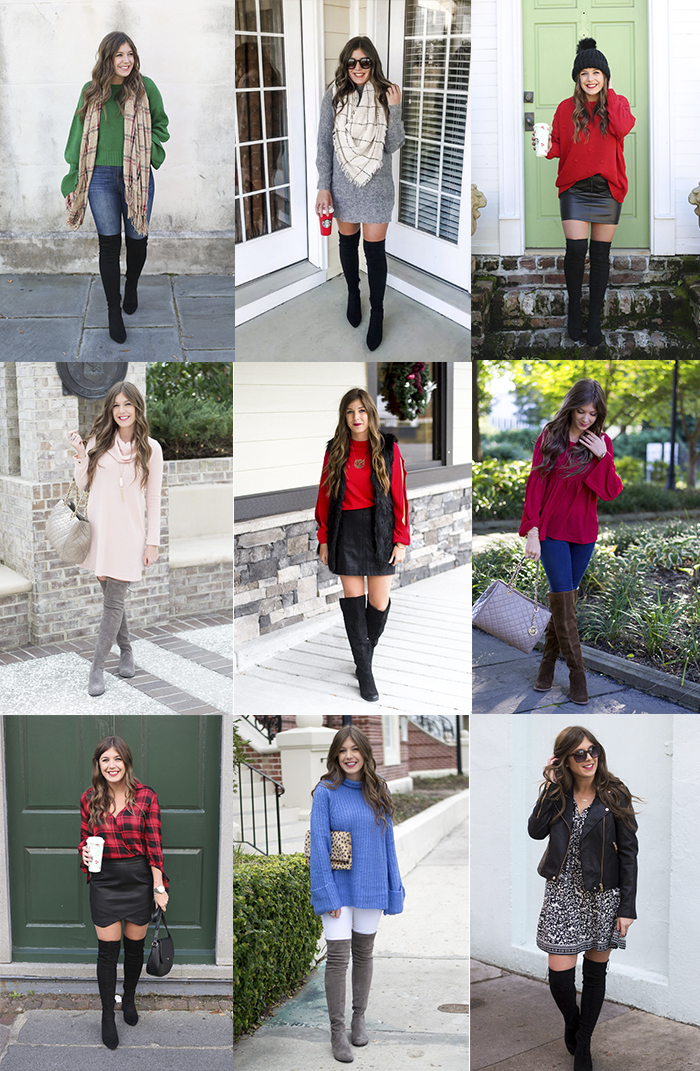 20+ Ways to Wear Over-the-Knee Boots - Chasing Cinderella