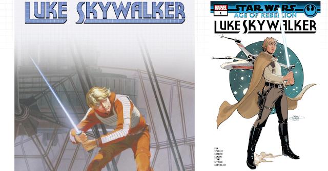 Recenzja: Star Wars: Age of Rebellion - Luke Skywalker #1