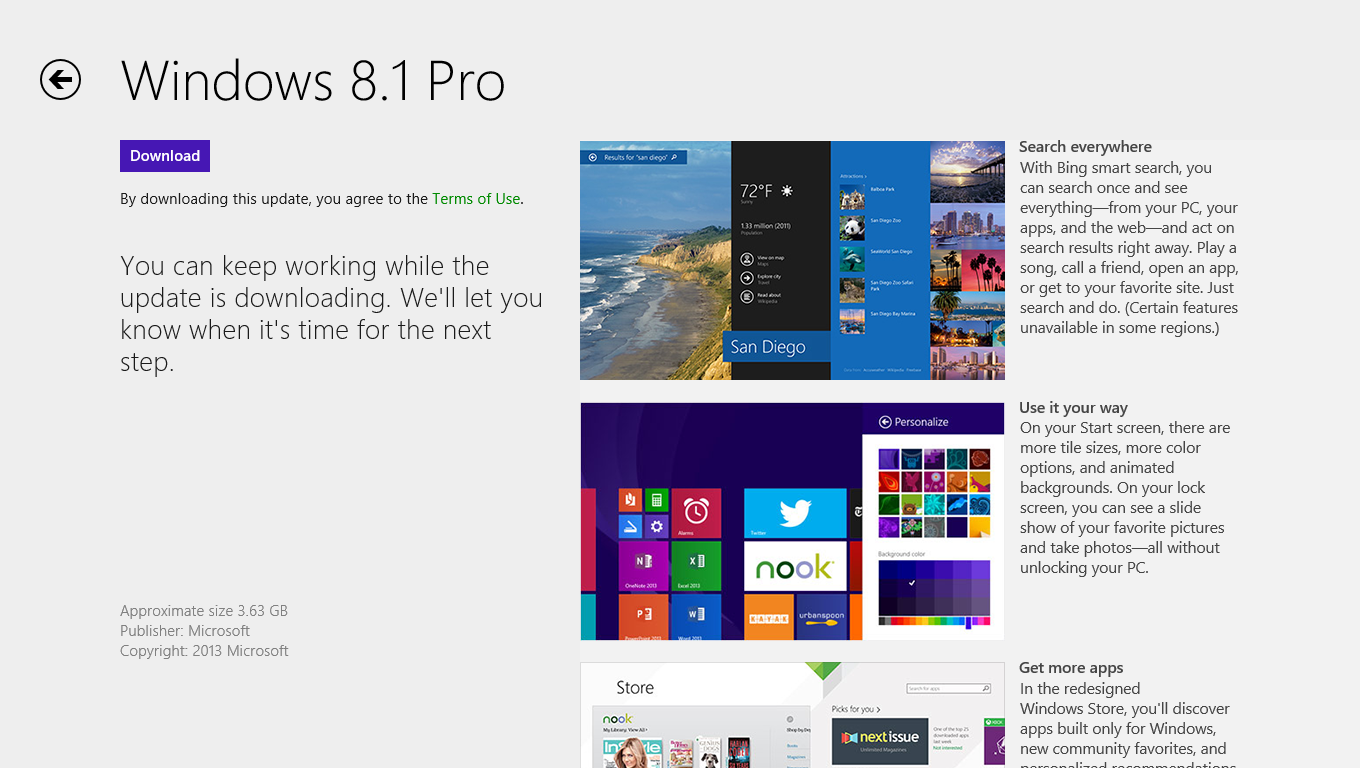 Download Windows 8.1 Pro