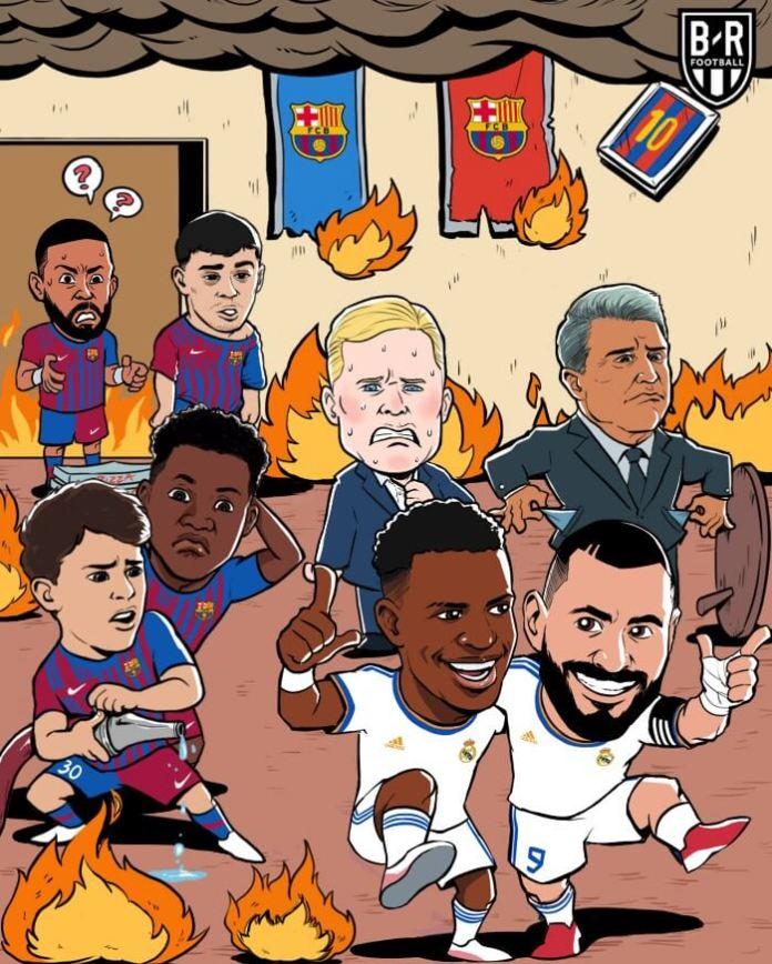 El Clásico Barça-Madrid 2021