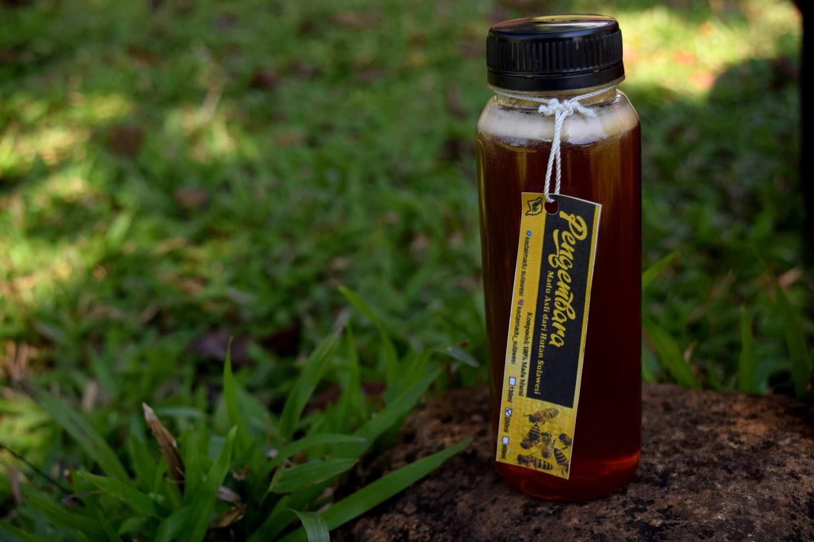 Madu coklat 250 ml - Kedai Madu Sulawesi