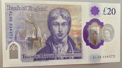£20 Note - JMW Turner