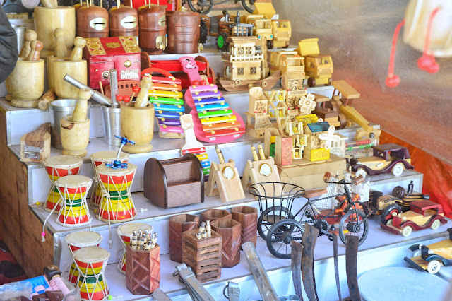 Market, Wooden Articles, Shakumbhari Devi, Behat, Jasmour, Saharanpur