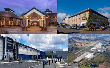 East Midlands Airport England UK