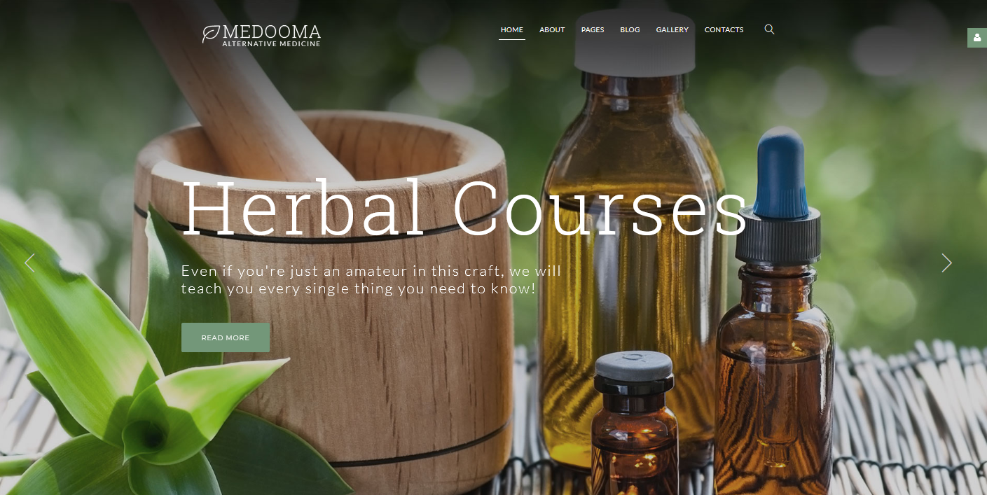 Medooma - Alternative Medicine Joomla Template