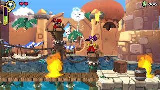 Shantae Half-Genie Hero - first level