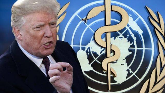 Tổng thống Trump gửi tối hậu thư cho WHO, kèm theo thời hạn 30 ngày