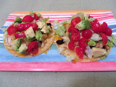 Loaded Nacho Chicken Tostada by Ever Ready