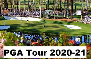 PGA Tour, 2020-21, schedule: Dates, events, venues.
