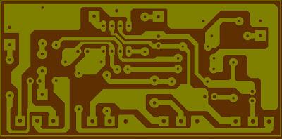 PCB Layout Tone Parametiq Menggunakan IC 4558