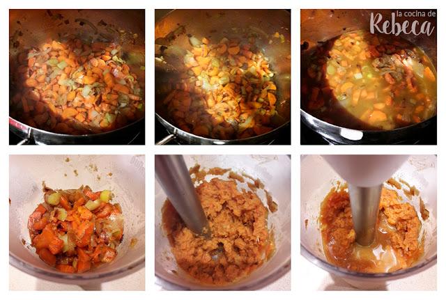 Receta de crema de zanahoria y mandarina al curry 02