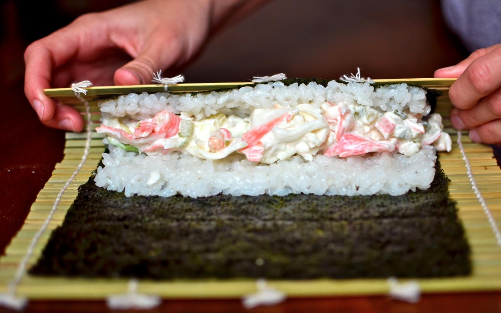 Yammie S Noshery Homemade Sushi The California Roll No