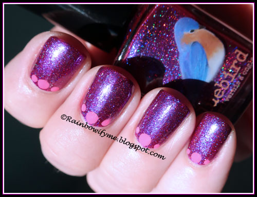 Bluebird Lacquer: Ride In My Rolos Royce