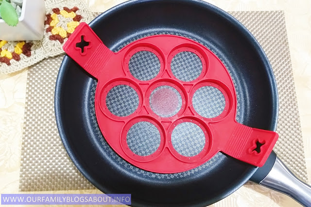 cookwares, kitchen, Tefal, frying pan, nonstick pan, Tefal frypan, Flippin Fantastic Nonstick Pancake Ring