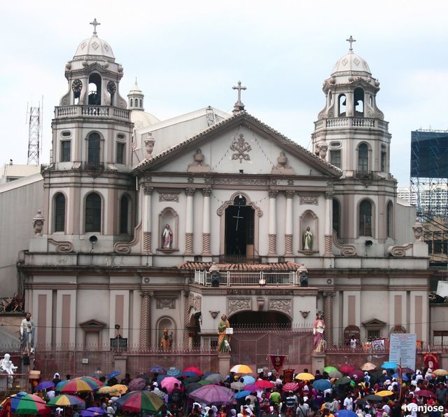Quiapo Church during Holy Week
