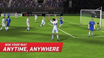 Serangan Fifa Mobile Soccer
