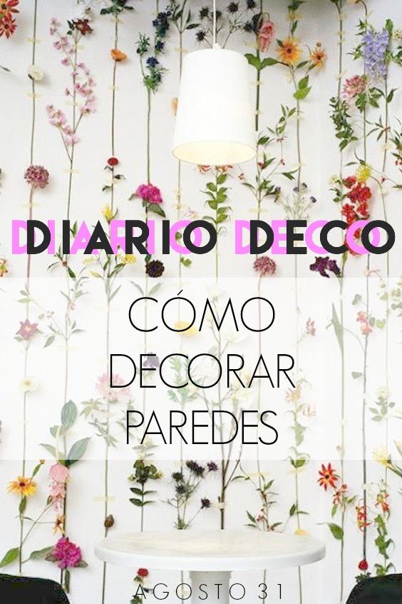 Agosto 31 diario deco c mo decorar paredes - Como solucionar humedades en paredes ...