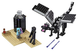 Minecraft The End Battle Lego Sets