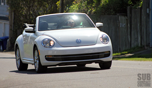 Driving the 2013 Volkswagen Beetle Convertible with the TDI engine